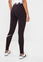 Nike - Legging club lifestyle - burgundy