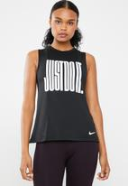 Nike - tank muscle - black & white