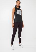 Nike - tank muscle - black & white