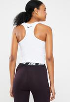 Nike - Np tank crop blocked - white & black