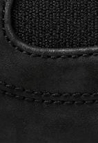 G-Star RAW - Warth chelsea leather denim mix - black