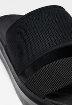 G-Star RAW - Strett sandal mesh nylon - black
