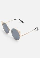 Superbalist - Izabel sunglasses - black & gold