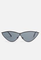 Superbalist - Alina cats-eye sunglasses - black