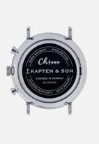 Kapten & Son - Chrono woven - rose & silver