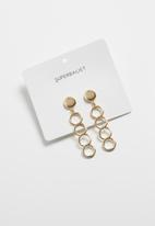 Superbalist - Chain link earrings - gold
