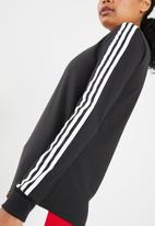 adidas Originals - 3 stripes long sleeve tee - black