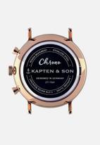 Kapten & Son - Chrono - rose gold