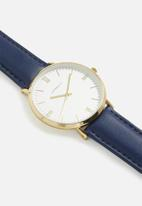 Superbalist - Jay leather strap - navy
