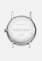 Kapten & Son - Heritage - silver & black