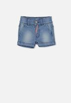 Cotton On - Nick slouch short - blue