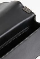 Superbalist - Alison embellished clutch bag - black