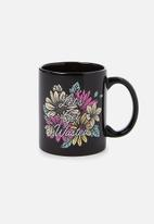 Typo - Anytime mug let's get wasted! - black