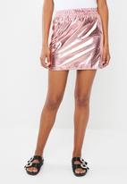 Noisy May - Demi short skirt - pink