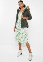 ONLY - Lucca parka jacket - khaki green