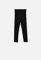 Cotton On - Huggie tights - black