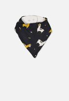 Cotton On - Dribble bib - black