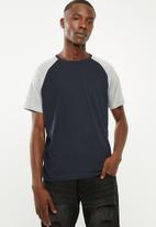 Brave Soul - Baptist T-shirt - navy