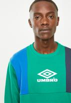 Umbro - Umbro hampden crew sweat - green