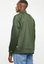 Jack & Jones - Auto side stripe sweatshirt - green