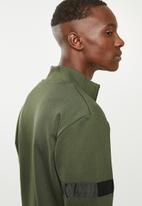 Jack & Jones - Sweat tracktop - green