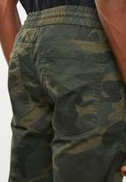 Jack & Jones - Forest night cargo pants - khaki green