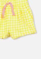 Cotton On - Charlotte short - yellow