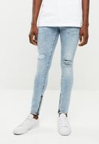 Jack & Jones - Liam regular fit jeans - blue