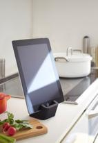 Yamazaki - Square tablet stand - black