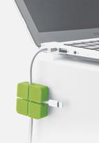 Yamazaki - Web cable organiser set of 2 small - green
