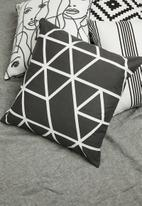 Sixth Floor - Nila cushion cover - charcoal