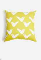 Sixth Floor - Triad cushion cover - yellow
