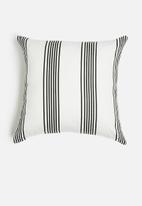 Sixth Floor - Mamba cushion cover - black & white