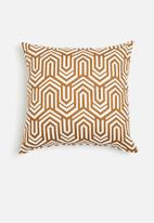 Sixth Floor - Perch cushion cover - rust