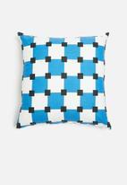 Sixth Floor - Mekar cushion cover - blue