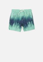 Cotton On - Murphy swim short - green & navy