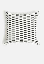 Sixth Floor - Atol cushion cover - black & white