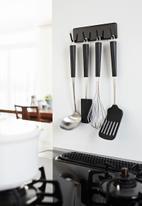 Yamazaki - Tower magnetic kitchen tool hook - black