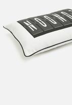 Sixth Floor - London cushion cover - black & white