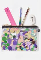 Typo - Confetti pencil case - multi