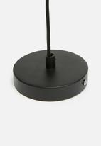 Sixth Floor - Matteo pendant - black & copper