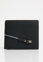 STYLE REPUBLIC - Cross zip wallet - black
