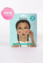 Maskeraide - Crystal Clear - 12 mini masks