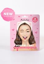 Maskeraide - Rose All Day - 2 peel off masks