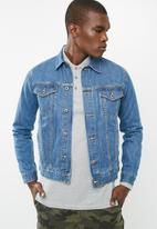 basicthread - Basic denim trucker jacket
