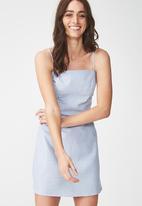 Cotton On - Woven krissy dress - blue