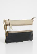 Superbalist - Charlotte crossbody leather bag - beige