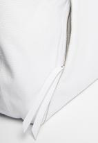 Superbalist - Zip pocket leather bag - snow