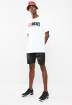 Diesel  - T-just division T-shirt - white