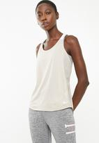 Nike - Dry tank elastica - beige